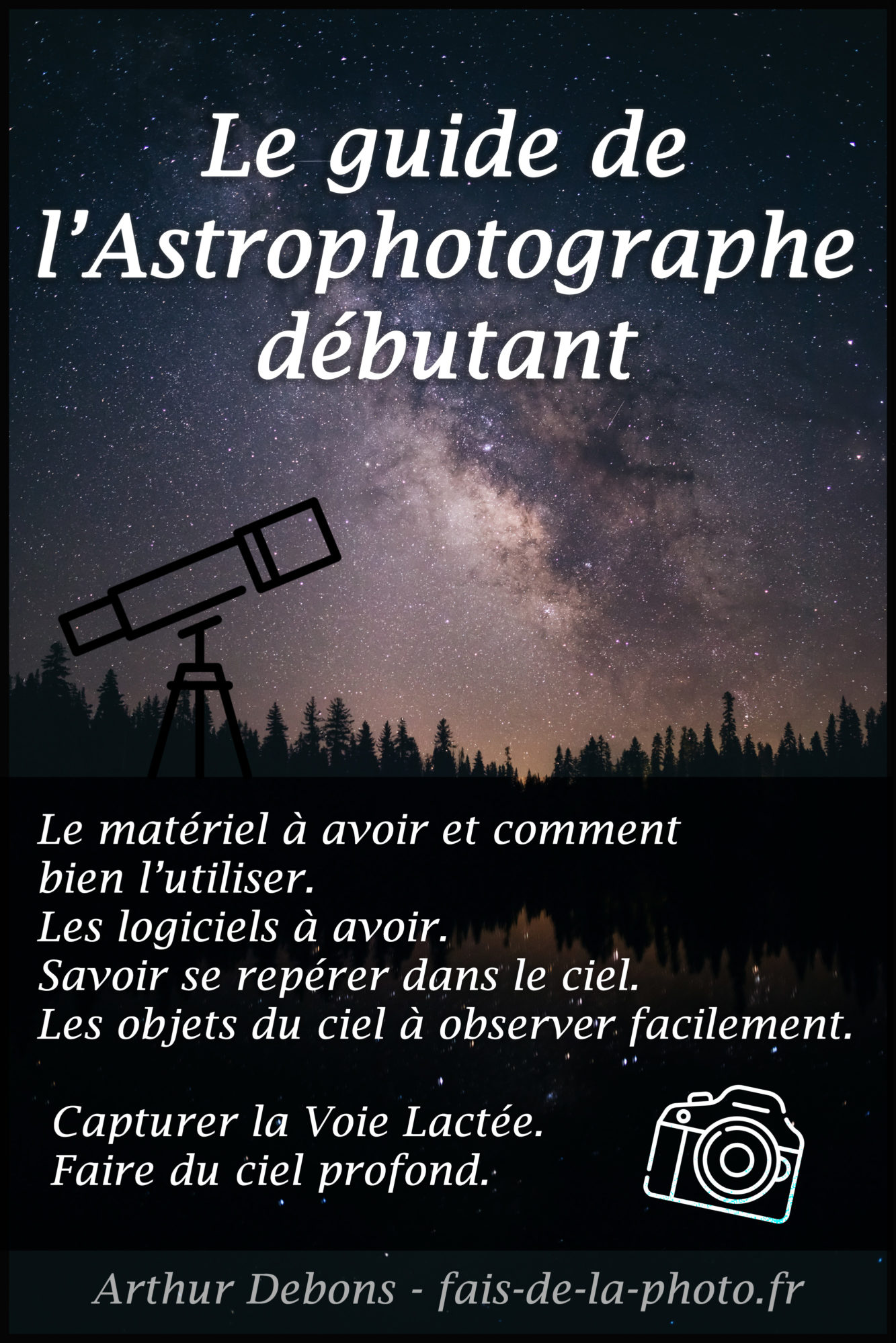 fais de la photo astrophotographie